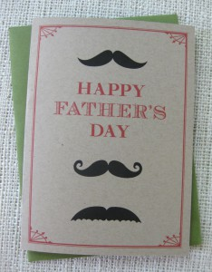 Abby Fathers Day card