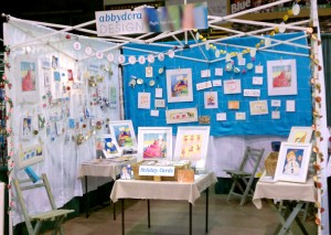 art festival booth