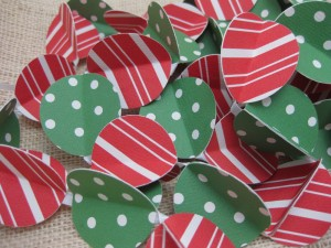 candy cane stripes streamer