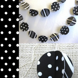 black white handmade