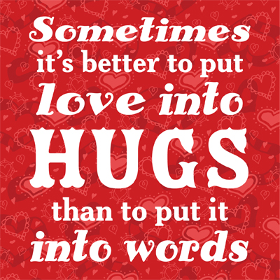 Love Quotes For Him Hug : Pics Photos - Hug Hugs Love Quote Quotes