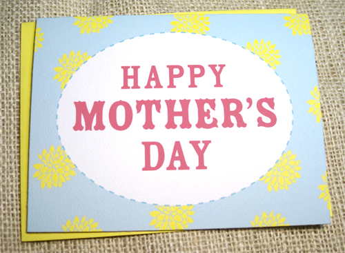 shabby chic mother card