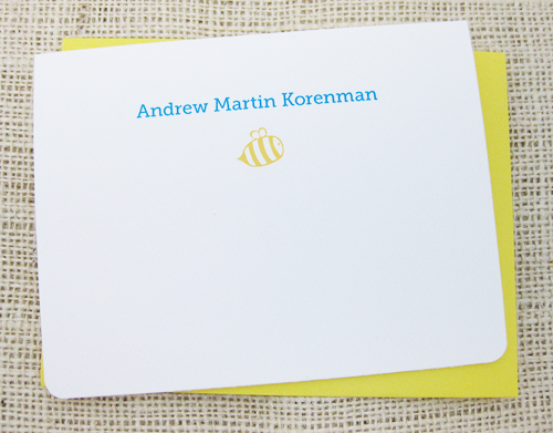 personalized name cards