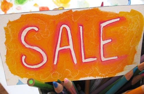 children's print sale