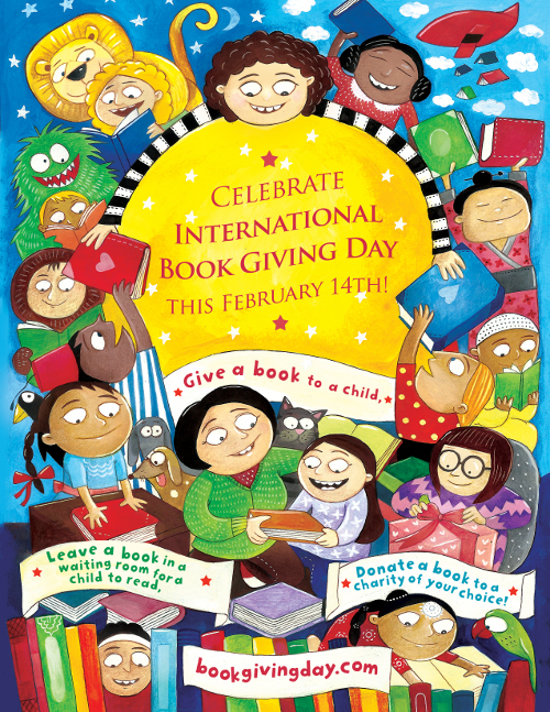 donate a book to a child