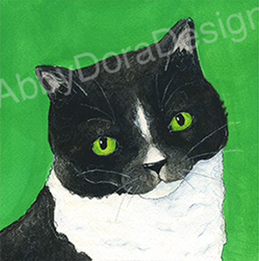 custom cat illustration