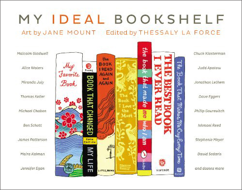 my idea bookshelf cover
