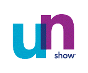 blue and purple un show logo