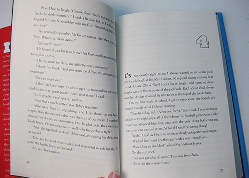 image of teen novel chapter opener