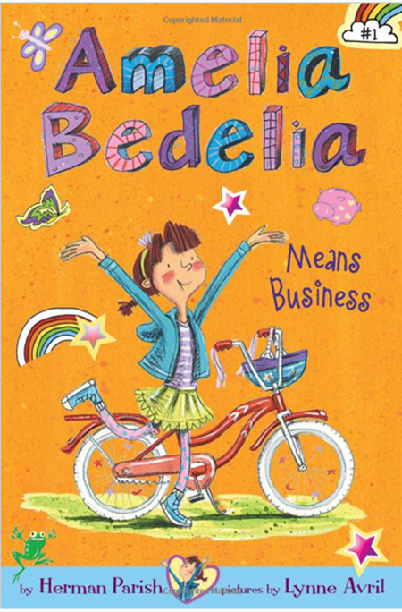 cover image of Amelia Bedelia by Herman Parish