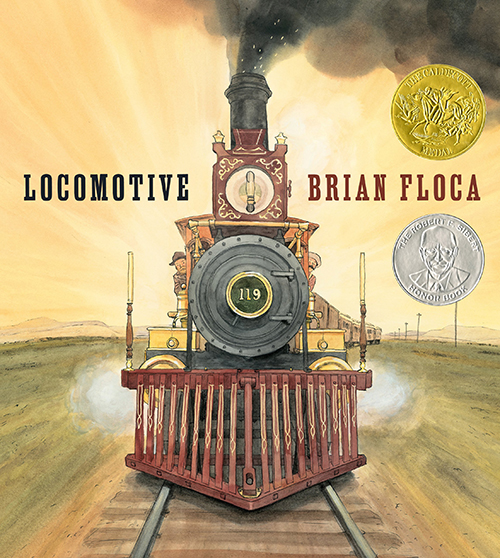 children's book cover brian floca