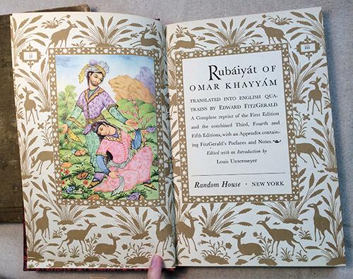 Rubaiyat omar khayyam book