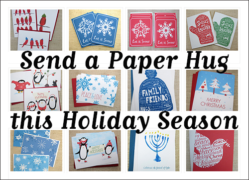 photos of christmas and hanukkah cards by AbbyDora Design