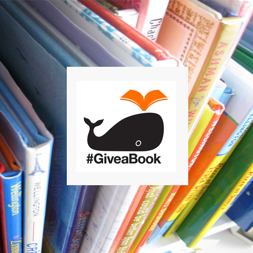#GiveaBook social media campaign
