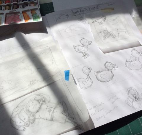 children's art drawings
