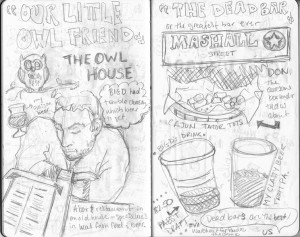 Sketch book Art House