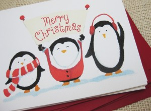 Funny Penguin Cards