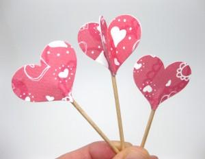 heart cupcake decoration