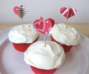 3D valentines day decoration