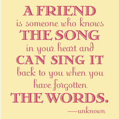 New Quotes About Friendship Awesome Friendship