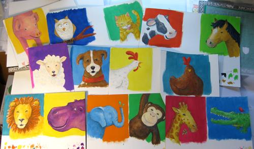 wild animal art