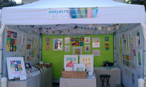 AbbyDora Design booth