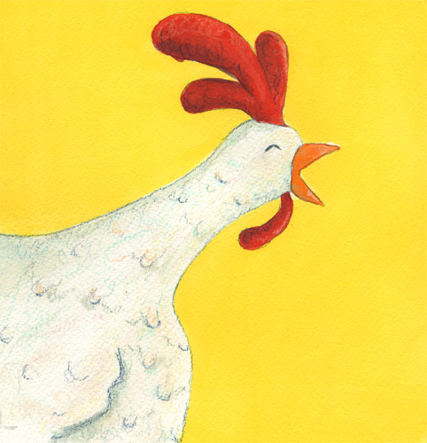 farm animal artwork