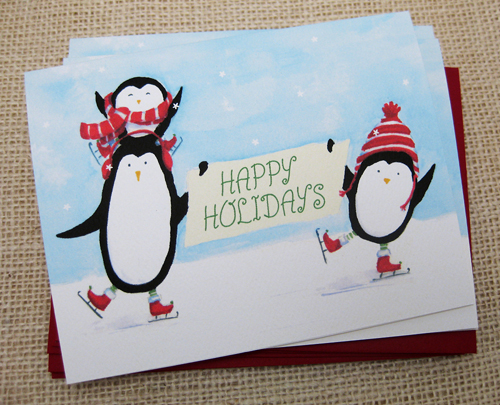 Holiday Penguin Cards Are Back