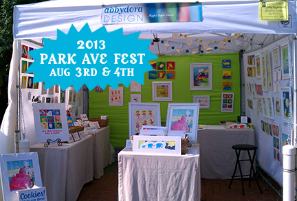 children's art booth in Rochester, NY