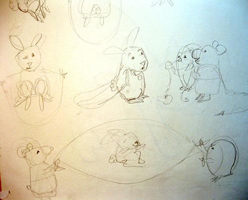 drawing of children's art