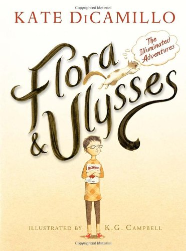 book cover middle grade novel called Flora and Ulysses