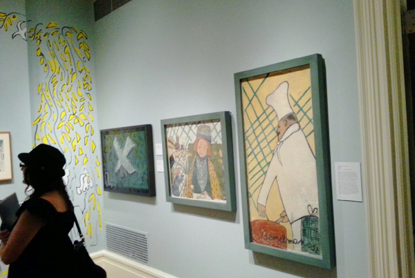 photo of art exhibition of Ludwig Bemelmans