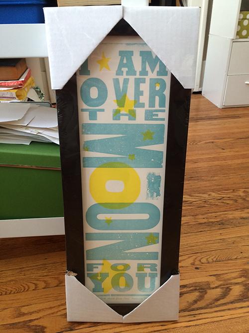 photo of Hatch Show Print vertical print