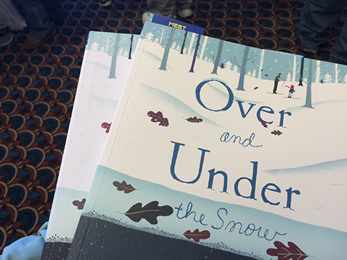 picture book by Kate Messner and illustrated by Christopher Silas Neal