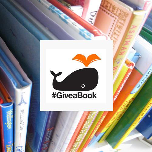#GiveaBook social media campaign