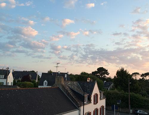 la Trinite sur Met Sunset
