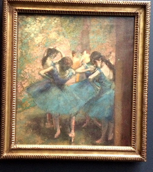 Degas Dancer Pastel