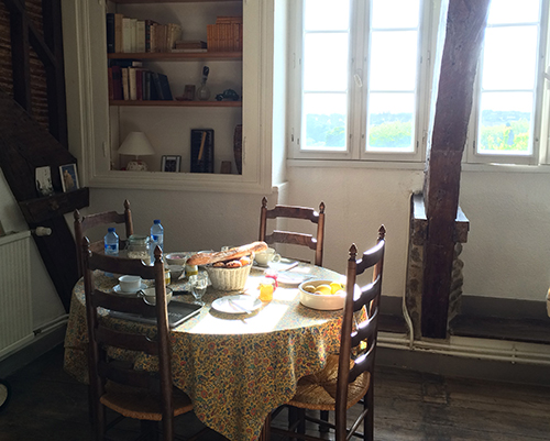 Suuny Breakfast Table