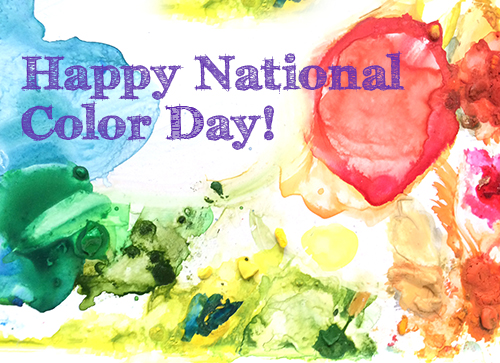 oct 22nd is national color day