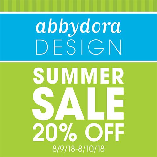 AbbyDora Design Summer Sale